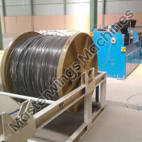 Roller Type Wire Straightening And Cutting Off Machines - MWM 8RO
